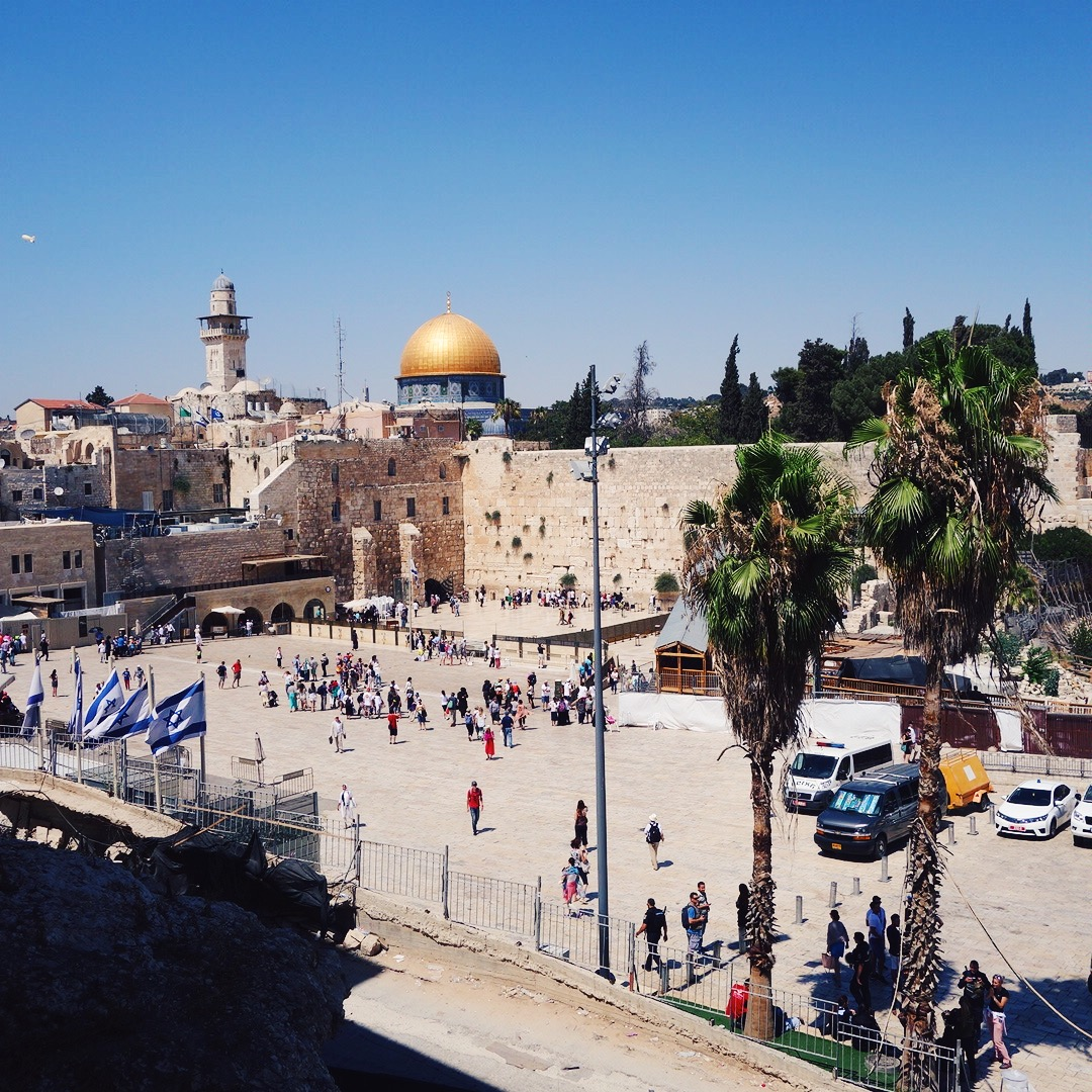View of Temple Mount in Jerusalem