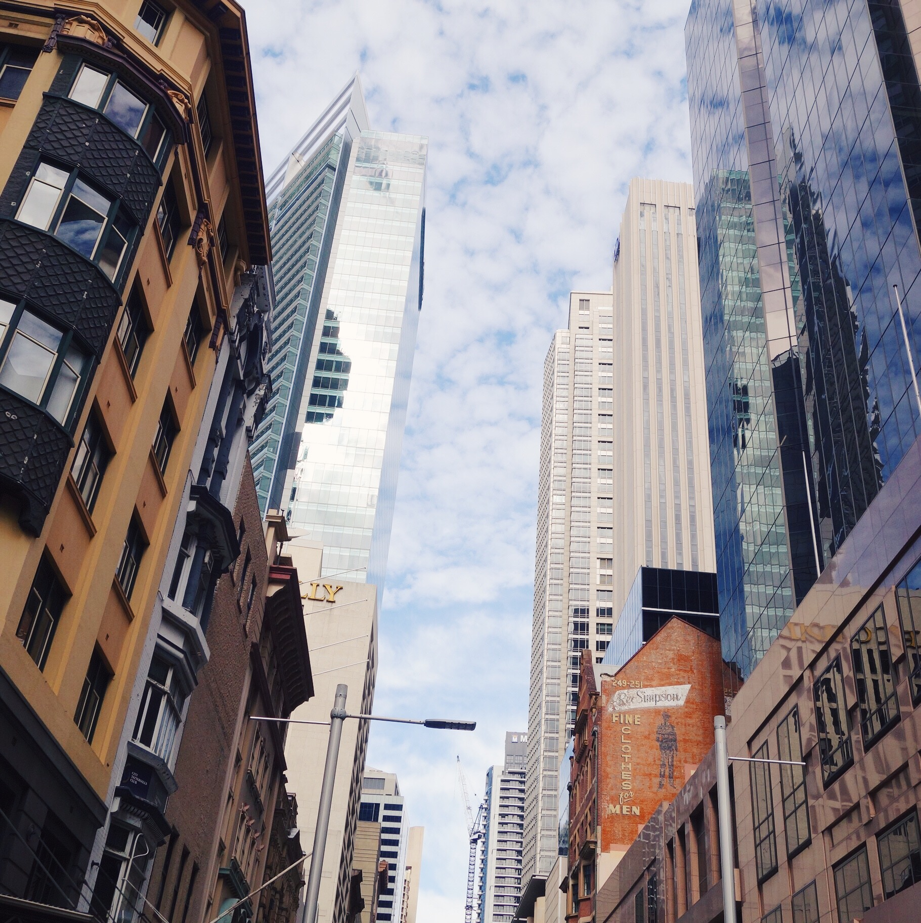 Skyscrapers at Pitt Street